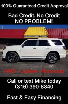2016 Toyota 4Runner for sale at Affordable Mobility Solutions, LLC - Standard Vehicles in Wichita KS