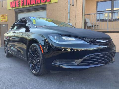 2017 Chrysler 200 for sale at Active Auto Sales Inc in Philadelphia PA