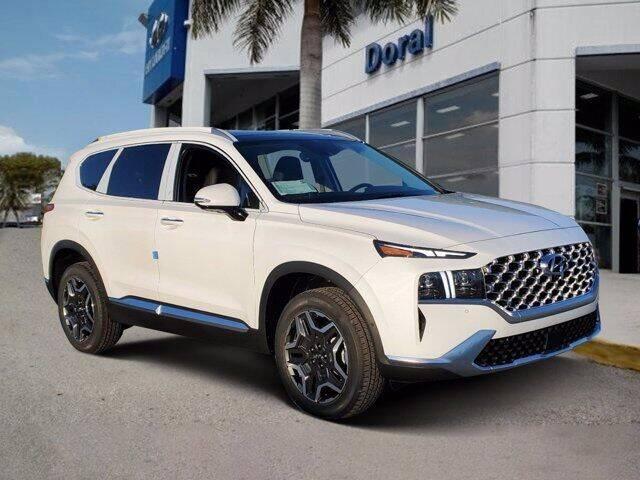 2022 Hyundai Santa Fe Hybrid for sale in Doral, FL