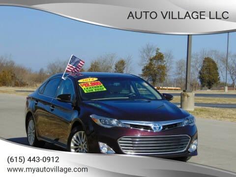 2014 Toyota Avalon Hybrid for sale at AUTO VILLAGE LLC in Lebanon TN