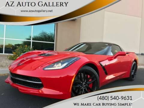 2014 Chevrolet Corvette for sale at AZ Auto Gallery in Mesa AZ