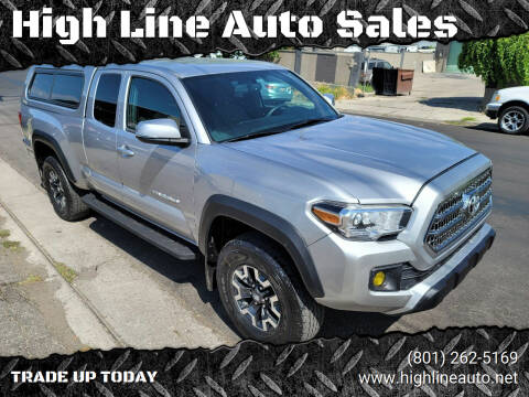 2016 Toyota Tacoma for sale at High Line Auto Sales in Salt Lake City UT