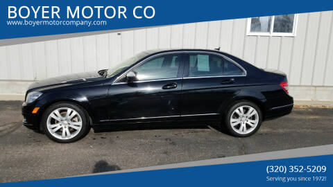 2008 Mercedes-Benz C-Class for sale at BOYER MOTOR CO in Sauk Centre MN