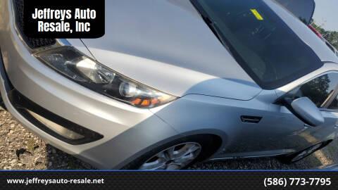 2011 Kia Optima for sale at Jeffreys Auto Resale, Inc in Clinton Township MI