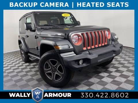 2018 Jeep Wrangler for sale at Wally Armour Chrysler Dodge Jeep Ram in Alliance OH