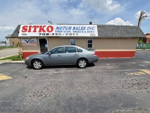 2008 Chevrolet Impala for sale at SITKO MOTOR SALES INC in Cedar Lake IN