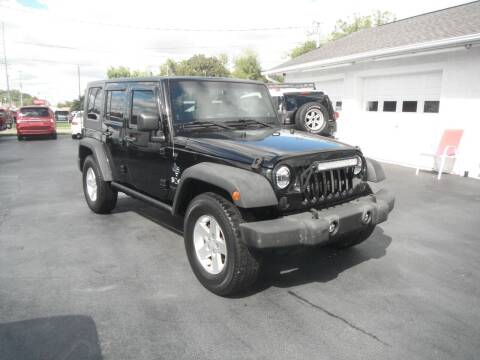 2008 Jeep Wrangler Unlimited for sale at Morelock Motors INC in Maryville TN