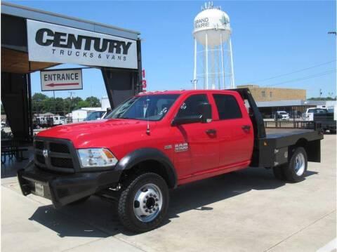 2017 RAM Ram Chassis 5500 for sale at CENTURY TRUCKS & VANS in Grand Prairie TX
