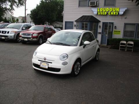 2013 FIAT 500 for sale at Loudoun Used Cars in Leesburg VA