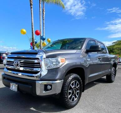 2017 Toyota Tundra for sale at PONO'S USED CARS in Hilo HI