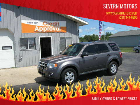 2012 Ford Escape for sale at Severn Motors in Cadillac MI