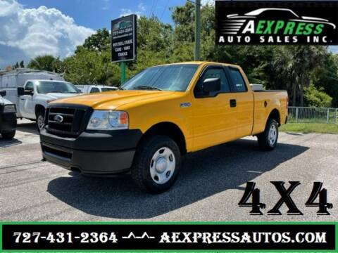 2007 Ford F-150 for sale at A EXPRESS AUTO SALES INC in Tarpon Springs FL
