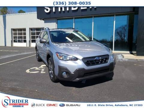 2021 Subaru Crosstrek for sale at STRIDER BUICK GMC SUBARU in Asheboro NC