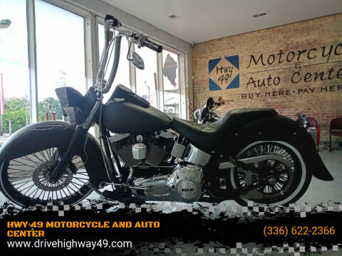 2006 Harley-Davidson FLSTN for sale at HWY 49 MOTORCYCLE AND AUTO CENTER in Liberty NC