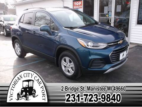 2020 Chevrolet Trax for sale at Victorian City Car Port INC in Manistee MI