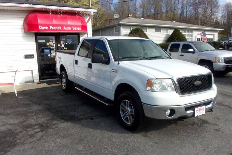 2007 Ford F-150 for sale at Dave Franek Automotive in Wantage NJ