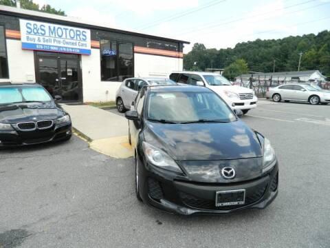 2012 Mazda MAZDA3 for sale at S & S Motors in Marietta GA
