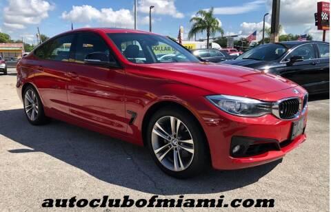 2015 BMW 3 Series for sale at AUTO CLUB OF MIAMI, INC in Miami FL