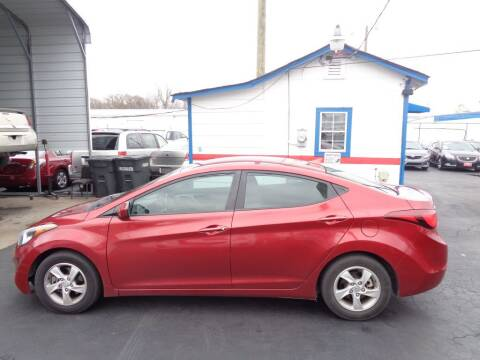 2014 Hyundai Elantra for sale at Cars Unlimited Inc in Lebanon TN