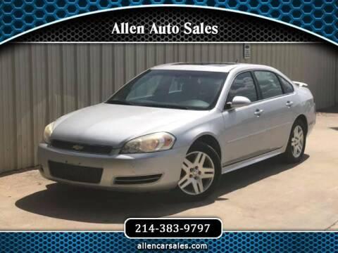 2013 Chevrolet Impala for sale at Allen Auto Sales in Dallas TX