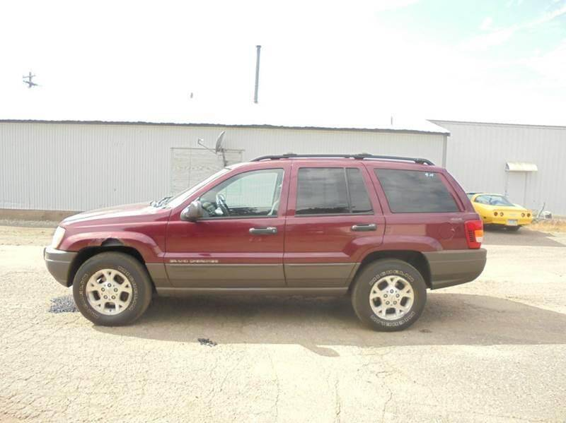 2001 Jeep Grand Cherokee for sale at Engels Autos Inc in Ramsey MN