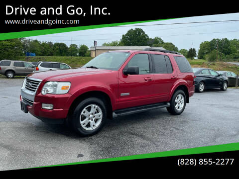 2008 Ford Explorer for sale at Drive and Go, Inc. in Hickory NC