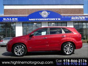 2015 Kia Sorento for sale at Highline Group Motorsports in Lowell MA