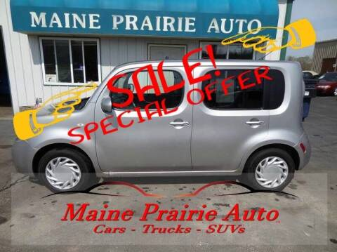 2010 Nissan cube for sale at Maine Prairie Auto INC in Saint Cloud MN