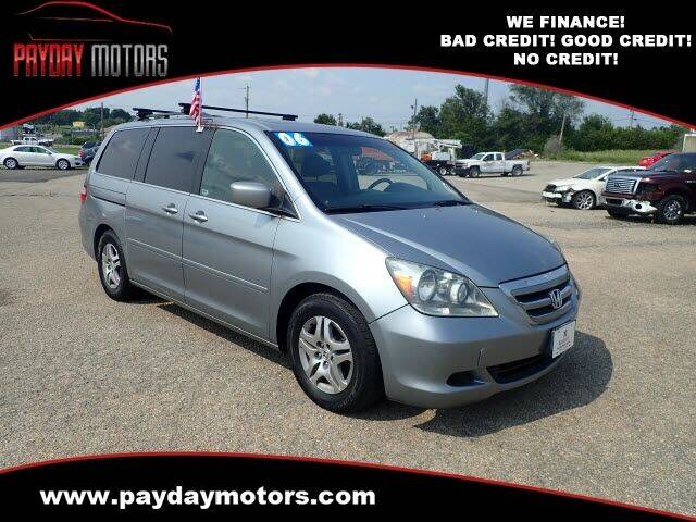 2006 Honda Odyssey for sale at Payday Motors in Wichita KS