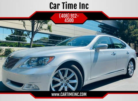 2007 Lexus LS 460 for sale at Car Time Inc in San Jose CA