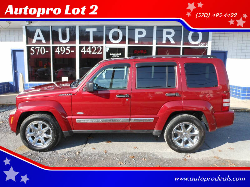 2012 Jeep Liberty for sale at Autopro Lot 2 in Sunbury PA