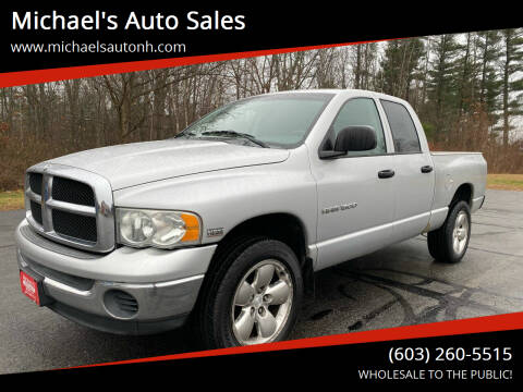 2003 Dodge Ram Pickup 1500 for sale at Michael's Auto Sales in Derry NH