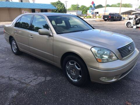 2002 Lexus LS 430 for sale at Cherry Motors in Greenville SC