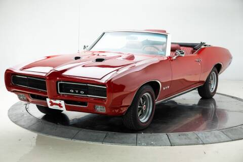 1969 Pontiac GTO for sale at Duffy's Classic Cars in Cedar Rapids IA