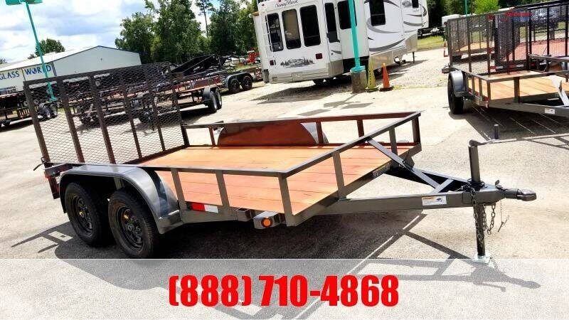 "2021 C-5 76"" X 14' Bumper Pull Utility for sale at Montgomery Trailer Sales in Conroe TX"