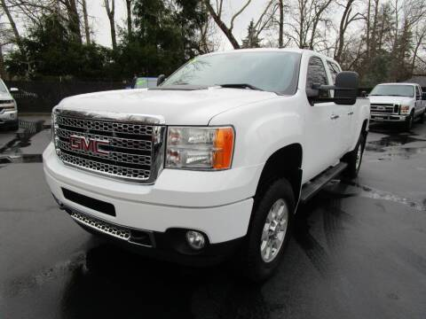 2014 GMC Sierra 3500HD for sale at LULAY'S CAR CONNECTION in Salem OR