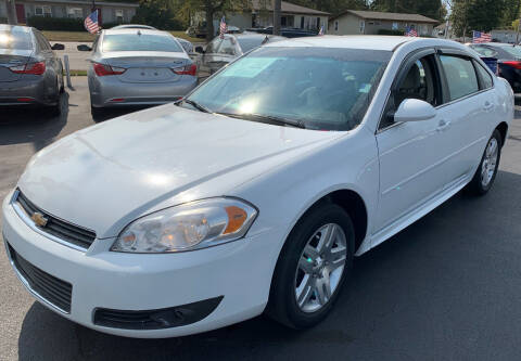 2012 Chevrolet Impala for sale at American Motors Inc. - Belleville in Belleville IL