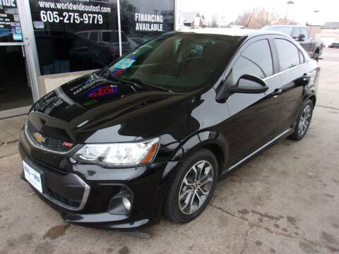 2017 Chevrolet Sonic for sale at World Wide Automotive in Sioux Falls SD