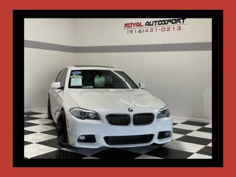 2013 BMW 5 Series for sale at Royal AutoSport in Sacramento CA