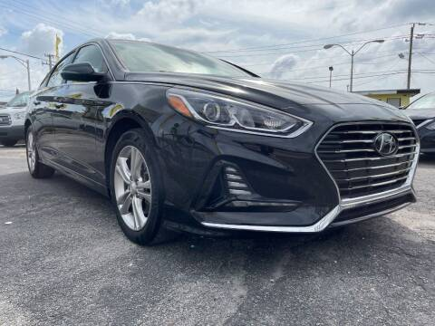 2018 Hyundai Sonata for sale at MIAMI AUTO LIQUIDATORS in Miami FL