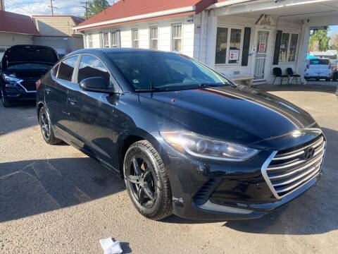 2017 Hyundai Elantra for sale at STS Automotive in Denver CO