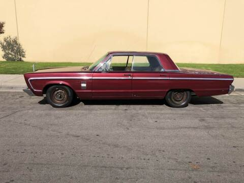 1966 Plymouth Fury for sale at HIGH-LINE MOTOR SPORTS in Brea CA