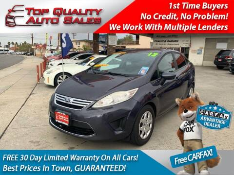 2012 Ford Fiesta for sale at Top Quality Auto Sales in Redlands CA