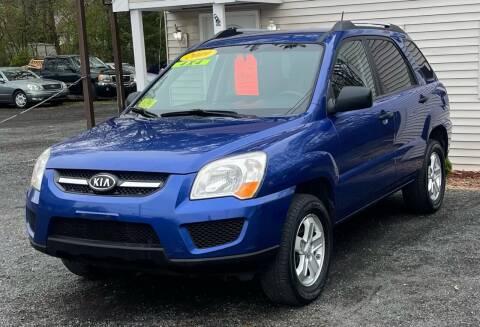 2009 Kia Sportage for sale at Landmark Auto Sales Inc in Attleboro MA