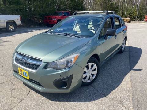 2014 Subaru Impreza for sale at Granite Auto Sales in Spofford NH