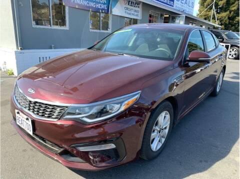 2019 Kia Optima for sale at AutoDeals in Hayward CA