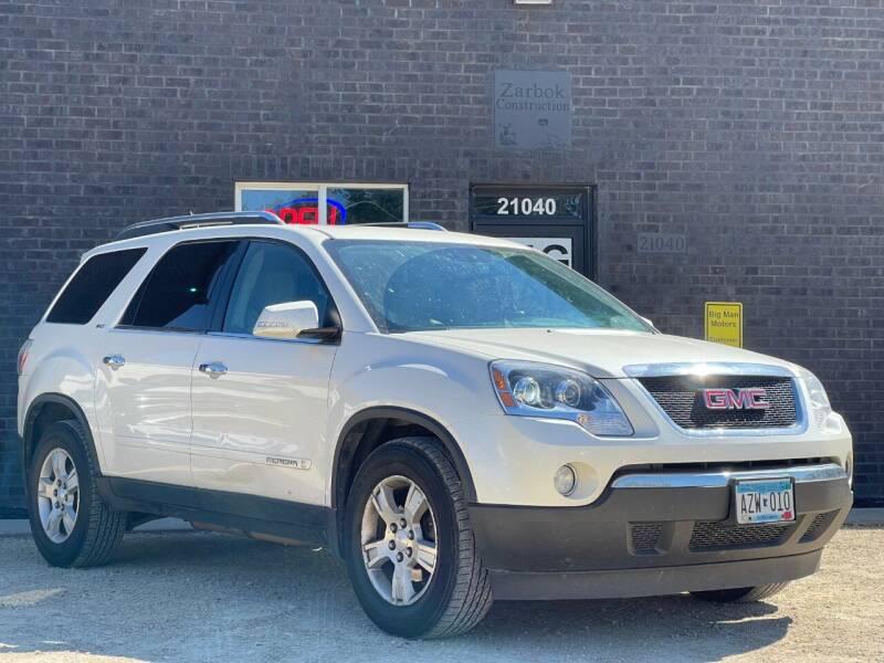 2008 GMC Acadia for sale at Big Man Motors in Farmington MN