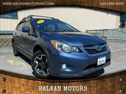 2013 Subaru XV Crosstrek for sale at BALKAN MOTORS in East Rochester NY