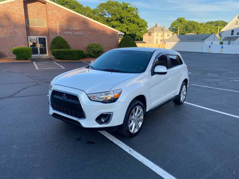 2015 Mitsubishi Outlander Sport for sale at New England Cars in Attleboro MA