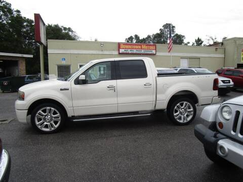 2008 Ford F-150 for sale at DERIK HARE in Milton FL
